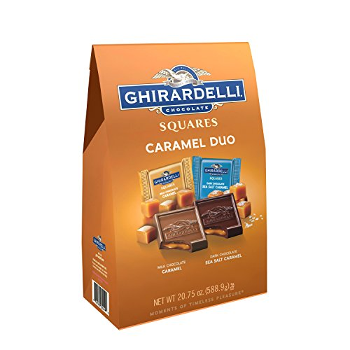 Ghirardelli Duo Caramel Squares Bag, X-Large, 20.75 Ounce