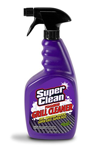 Foaming All Purpose Grill Cleaner Degreaser, Biodegradable, 32oz VALUE SIZE by Super Clean