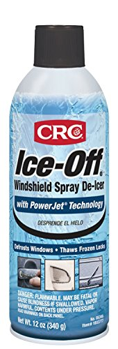 CRC 05346 12 oz Ice-Off Spray De-Icer