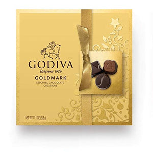 Godiva Belgium Goldmark Assorted Chocolate Creations Gift Box - 11.1 oz.