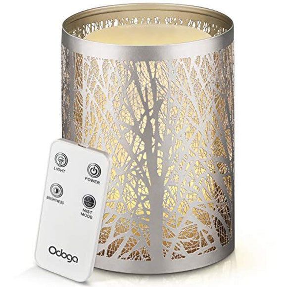 Odoga Aromatherapy Essential Oil Diffuser with Decorative Iron Cover