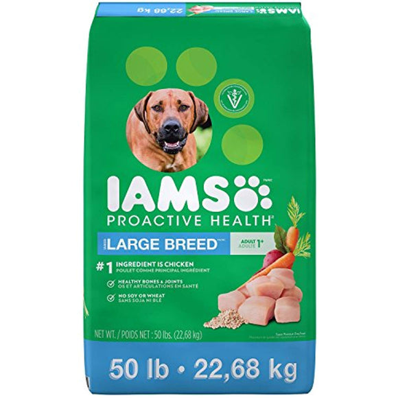 IAMS PROACTIVE HEALTH Large Breed Adult Dry Dog Food - Chicken (50 Lb)