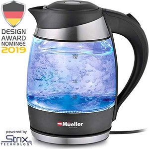Mueller Premium 2019 Model 1500W Electric Kettle Water Heater