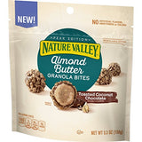 Nature Valley Almond Butter Toasted Coconut Chocolate Granola Bites, 5.3 Ounce (Pack of 3)