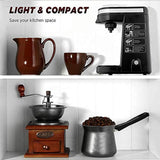CHULUX Single Serve Coffee Maker