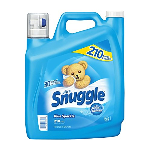 Snuggle Blue Sparkle Fabric Softener (210 Loads, 168 oz.)