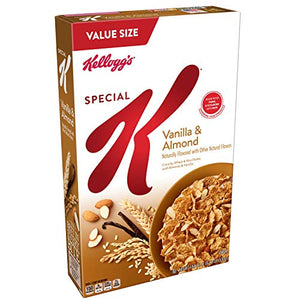 Special K Cereal Vanilla Almond, 18.8 oz (Pack of 3)