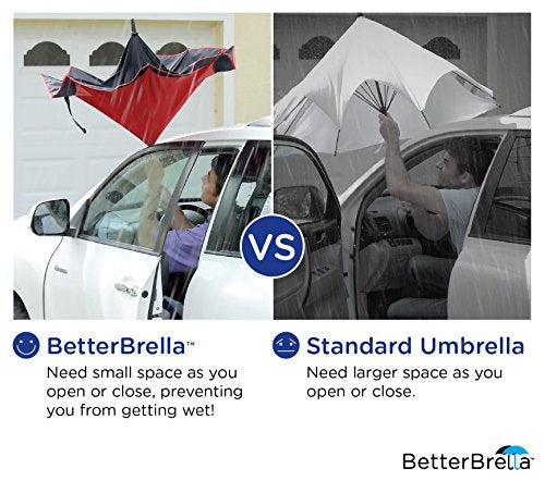 BETTER BRELLA Wind-Proof, Reverse Open, Upside Down 41.5