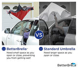 "BETTER BRELLA Wind-Proof, Reverse Open, Upside Down 41.5"" wide Umbrella"