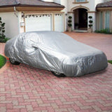 Large Full Size Car Cover Water Dust UV Dirt Proof All Weather Protection