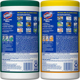 Clorox Disinfecting Wipes Value Pack, Bleach Free Cleaning Wipes - 75 Count Each (Pack of 4) (Packaging May Vary)
