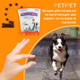 PETIPET Joint Supplement for Dogs - Glucosamine Chondroitin & MSM: Mobility for Arthritis, Hip & Inflammation for Dog Pain Relief