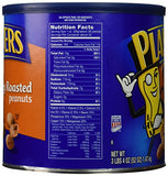 Planters Peanuts, Honey Roasted & Salted, 52 Ounce Canister (Pack of 2)