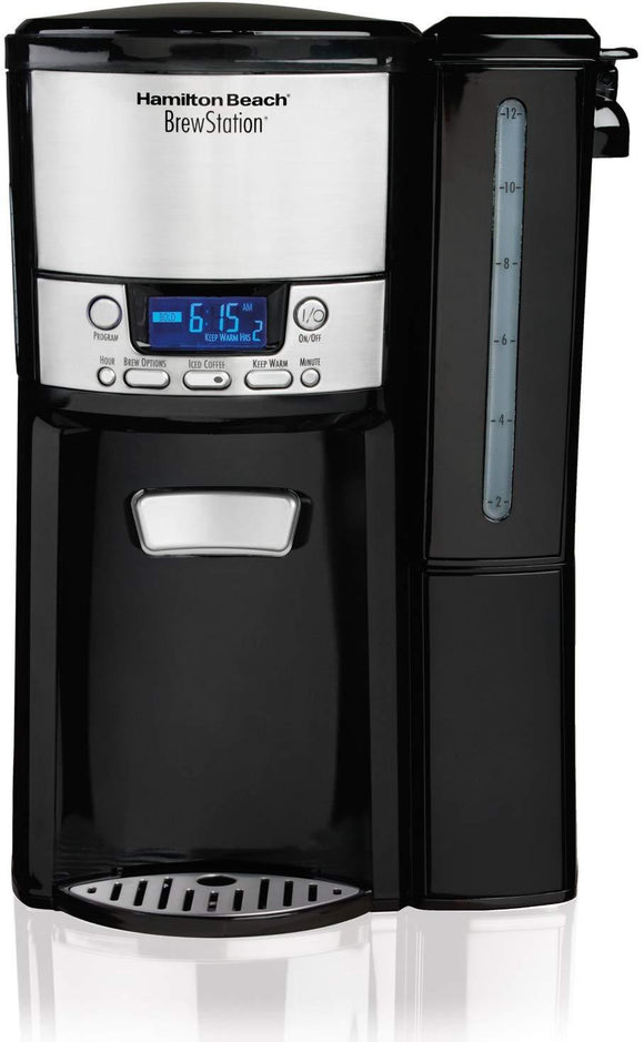 Hamilton Beach (48464) Coffee Maker with 12 Cup Capacity & Internal Storage Coffee Pot