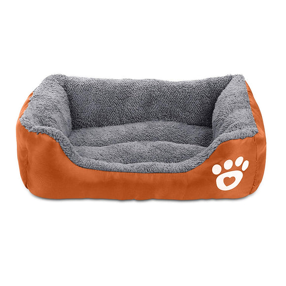 AsFrost Dog Bed Super Soft Pet Sofa Cats Bed,Non Slip Bottom Pet Lounger,Self Warming and Breathable Pet Bed Premium Bedding