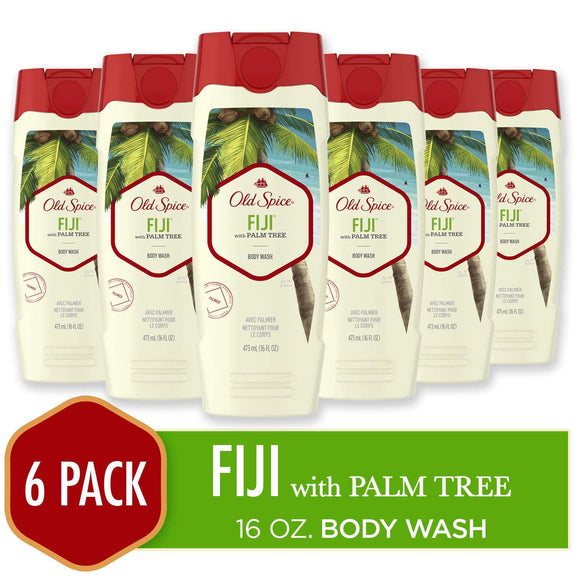 Old Spice, Shampoo and Conditioner 2 in 1, Fiji for Men