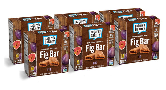 Nature's Bakery Whole Wheat Fig Bar, Vegan + Non-GMO, Original Fig (36 Count)