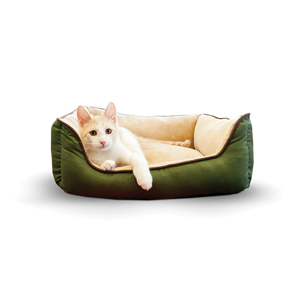 K&H Pet Products 3161 Self-Warming Lounge Sleeper Pet Bed