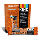 KIND Bar, Caramel Almond Pumpkin Spice, Seasonal, Limited Batch, 1.4oz, 12 Count