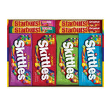 SKITTLES & STARBURST Christmas Candy Full Size Variety Mix 30-Count Box