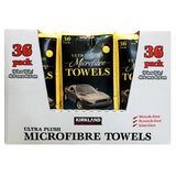 Kirkland Signature Microfiber Towel Case, 324-count