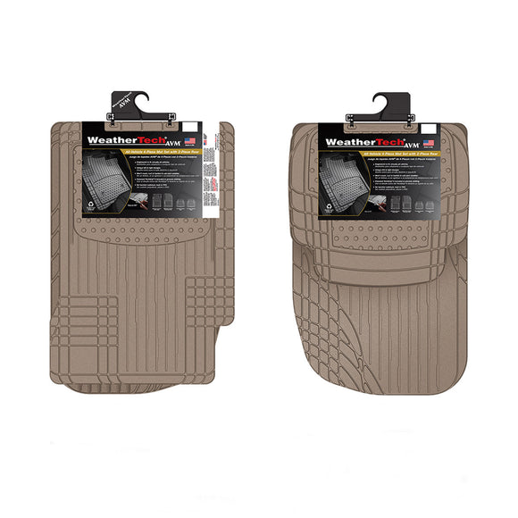 WeatherTech 4-piece Trim-to-Fit Car Mats