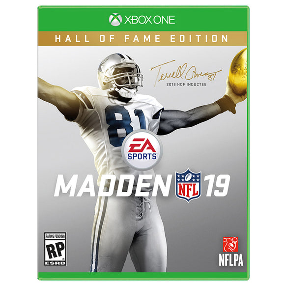 Madden 19 Hall of Fame Edition Xbox One Video Game