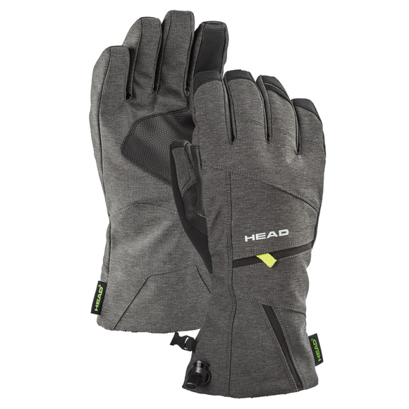HEAD Unisex Ski Gloves, Gray