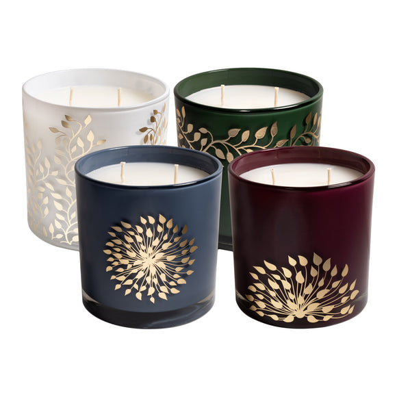 Bellevue Soy Blend Fragranced Candle, 4-pack
