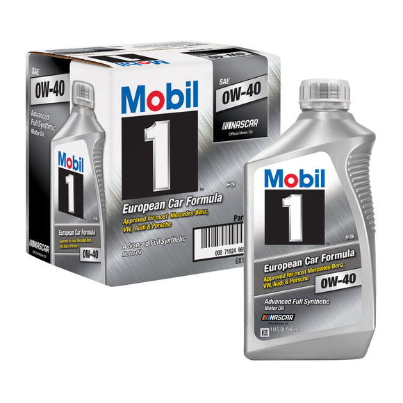 Mobil 1 Full Synthetic Motor Oil 0W-40