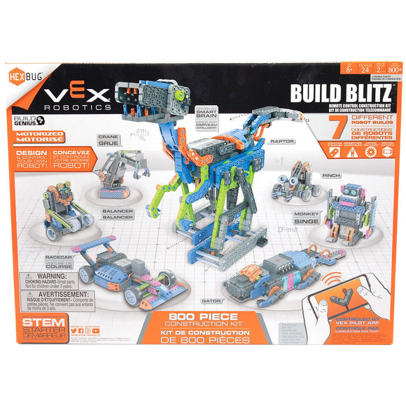 VEX Build Blitz Robotics Construction Kit