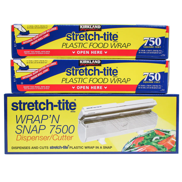 Kirkland Signature Stretch-Tite 2-pack with Wrap'N Snap