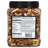 2 Pack Kirkland Signature Unsalted Mixed Nuts, 2.5 lb Each