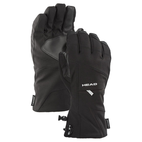 HEAD Unisex Ski Gloves, Black