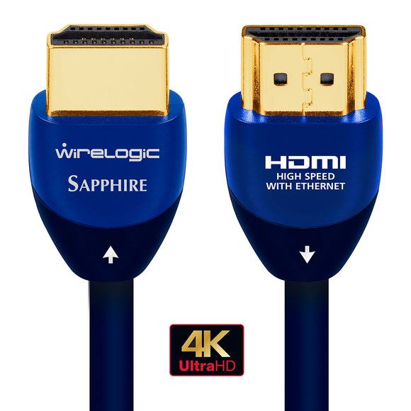 WireLogic 15 Feet Sapphire HDMI Cable