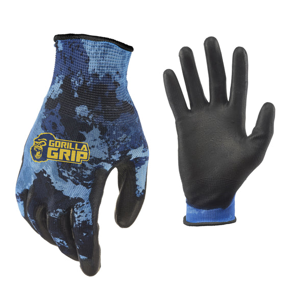 Gorilla Grip Veil Aqueous 6-pack Fishing Gloves