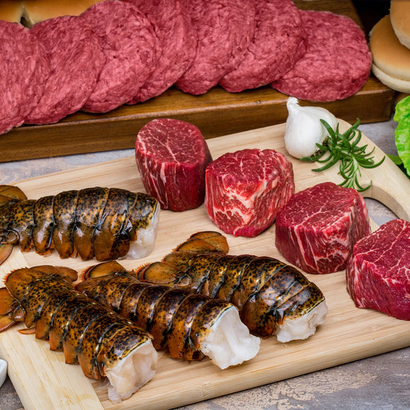 Chicago Steak Certified Angus Beef Surf and Turf