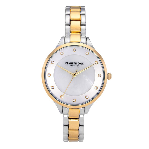 Kenneth Cole Two-Tone Stainless Steel Ladies Watch