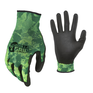 Gorilla Grip Veil Spectre Green 6-pack Fishing Gloves