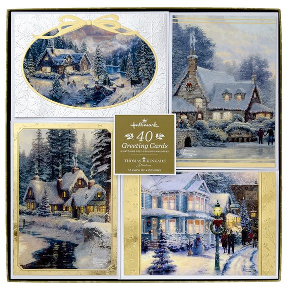 Hallmark Greeting Cards - Thomas Kinkade, 40-count