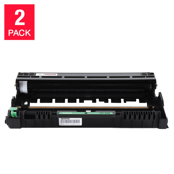 Brother DR-630 Drum Unit, 2-pack