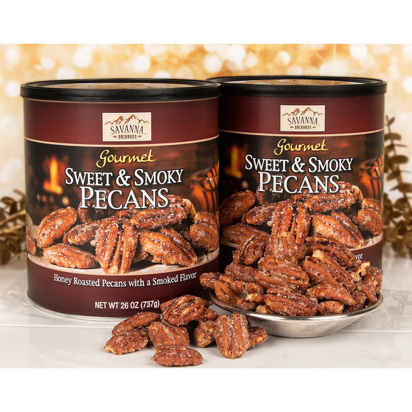 Savanna Orchards Sweet & Smoky Pecans 26 oz, 2-count