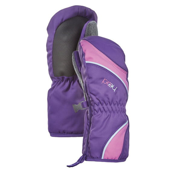 HEAD Junior Ski Mittens, Purple/Pink
