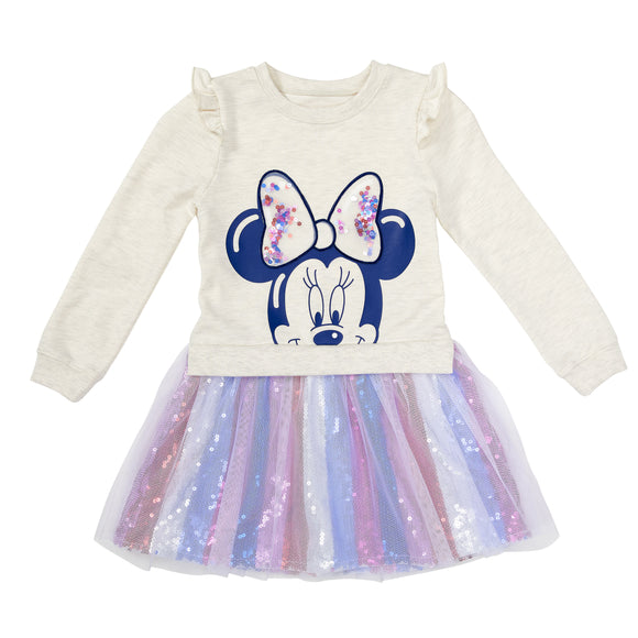 Disney Sweatshirt Dress, Minnie