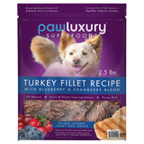 Pawluxury Turkey Fillet Recipe Chewy Dog Treats, 40 oz.