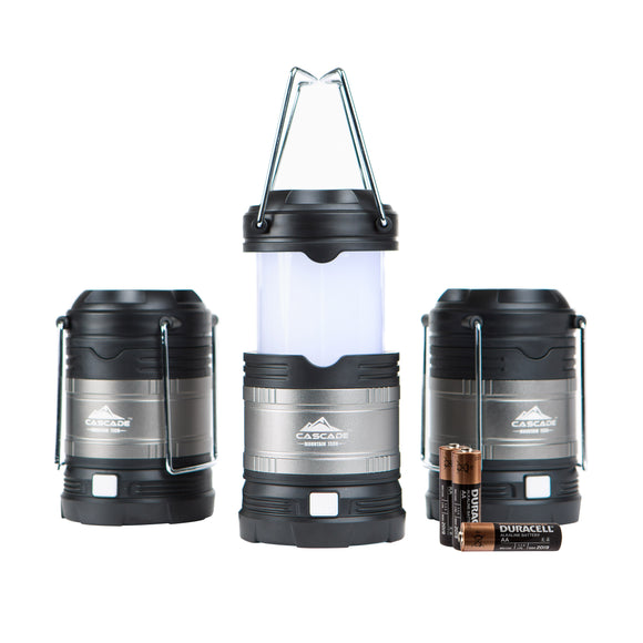 Cascade Mountain Tech LED Lantern 3pk