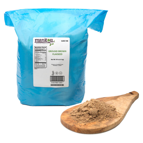 Manitou Ground Brown Flaxseed, 10 lbs