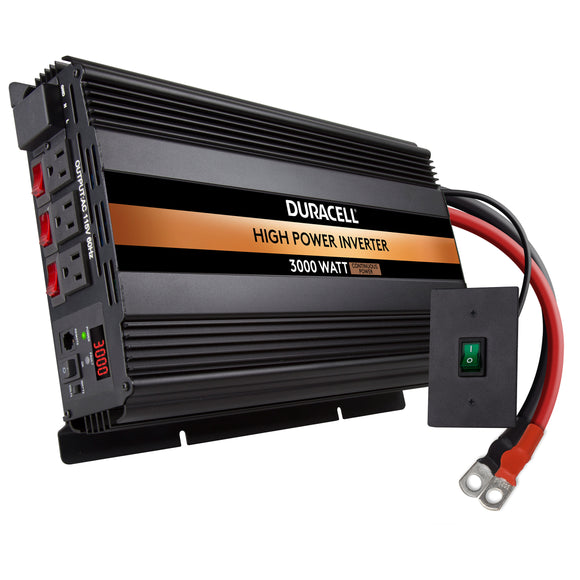 Duracell 3000 Watt High Power Inverter