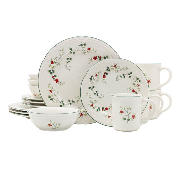 Pfaltzgraff Winterberry 16-piece Dinnerware Set