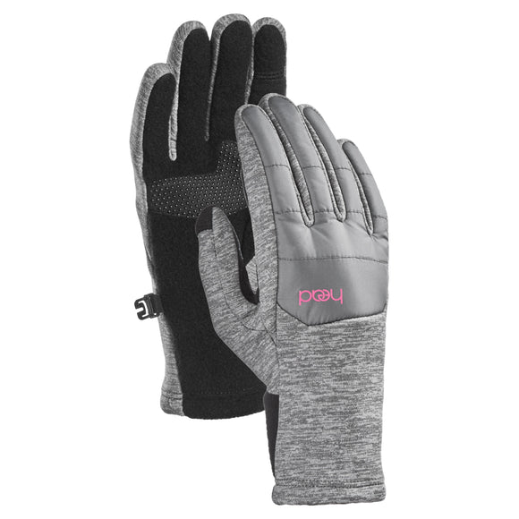 HEAD Junior Hybrid Gloves, Gray
